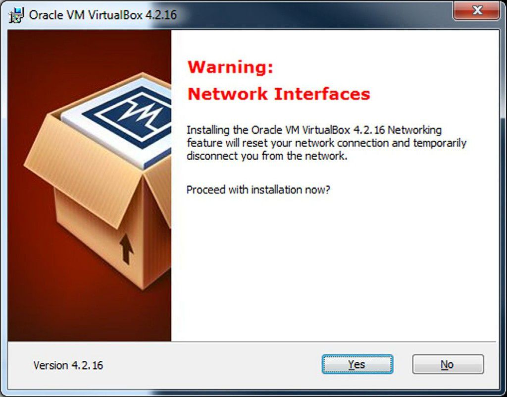 Installation Virtual Box on Window 4