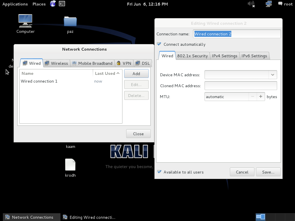 6 steps to change Kali Linux IP address (Easy)