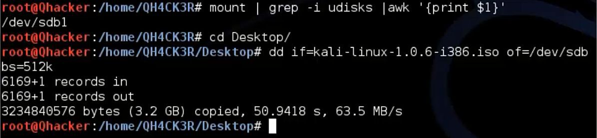 How To Install Kali Linux On USB Drive Persistent