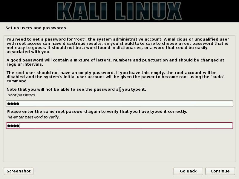 Hard Drive Installation of Kali Linux image3