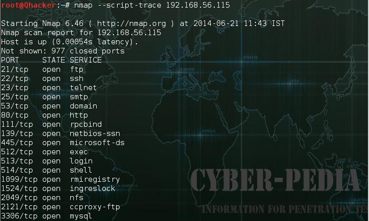 --script-trace in nmap