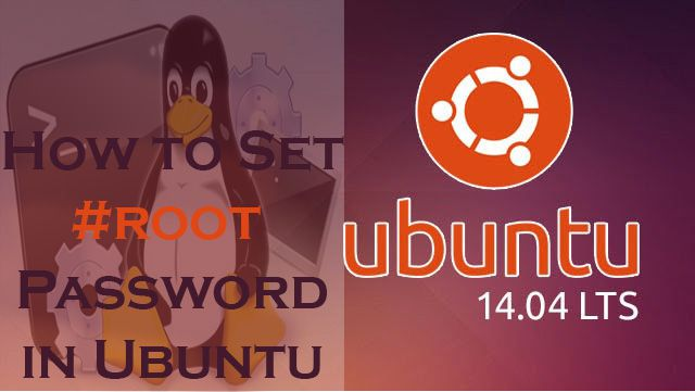 How to change root password Ubuntu