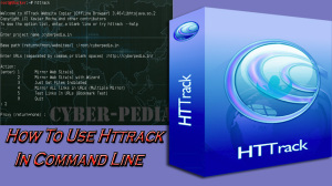 How to use httrack website copier command line