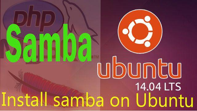 how to install samba