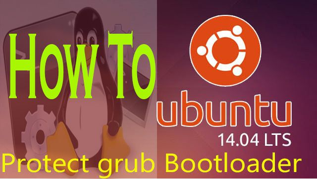 protect grub boot loader