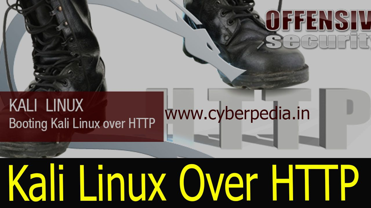 Booting Kali Linux liver over HTTP