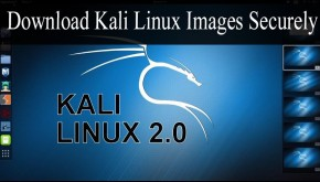 Download Kali Linux Images Securely