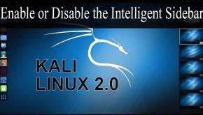 Lock Desktop Sidebar Gadgets in Kali Linux | Cyberpedia