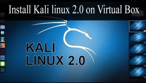 Install Kali linux 2.0 on Virtual Box Step by Step