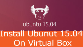 Install Ubuntu on Virtual box