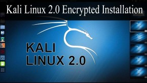 Kali Linux 2.0 Encrypted Installation on Disk