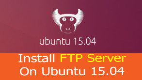 How to install FTP Server Ubuntu - Video