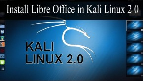 How to install libreoffice in Kali Linux