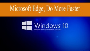 Microsoft edge sprtan browser in window 10