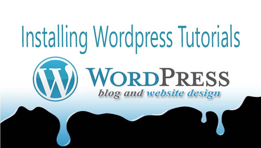 Installing Wordpress Tutorials for Beginners