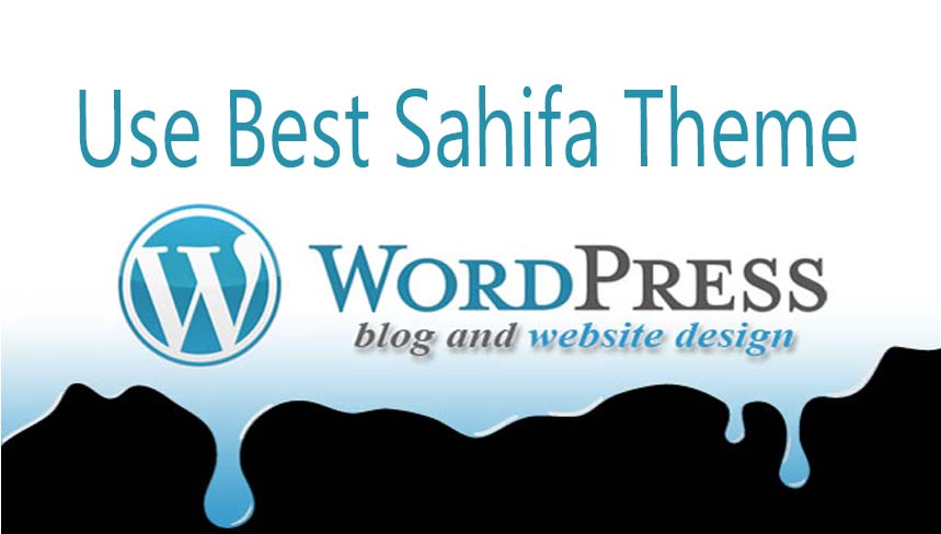 Use Sahifa Theme for Blogger to design website