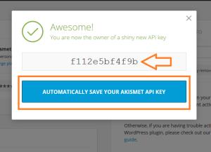 generate key