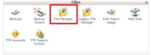 file manager in big rock
