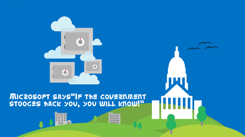 After twitter, Microsoft to inform you if you are being spied on by the government