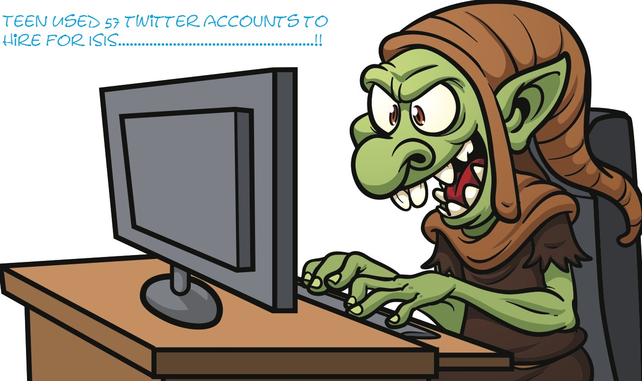 US Teen used 57 twitter accounts to hire for ISIS