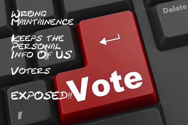 Misconfigured Database exposes 191 million US voters