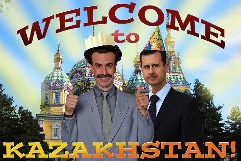 welcome to kazhakstan
