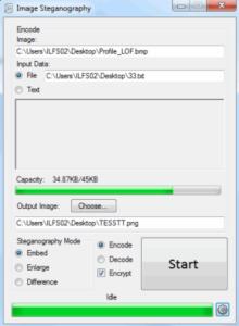 Image Steganography tool