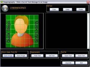 QuickStego Steganography tool 1