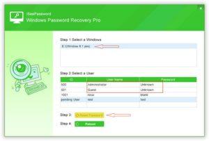 reset-password-using-windows-password-recovery-pro