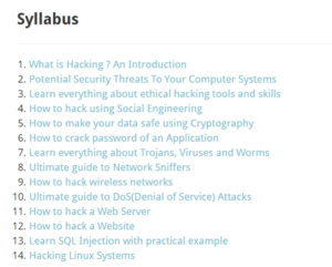 Ethical hacking tutorial by guru99
