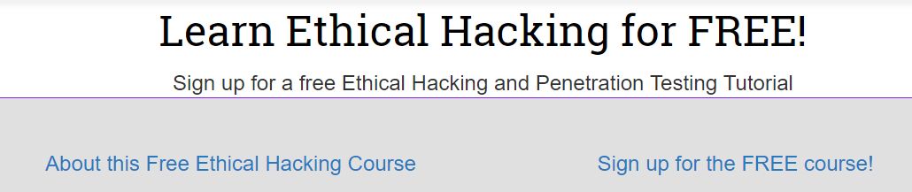 10 Websites for Ethical Hacking Tutorial - Free