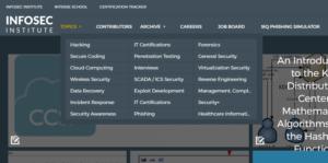resources of infosec institute
