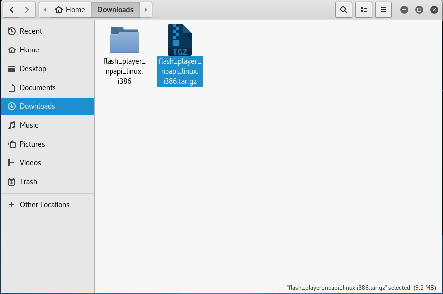 download folder in kali