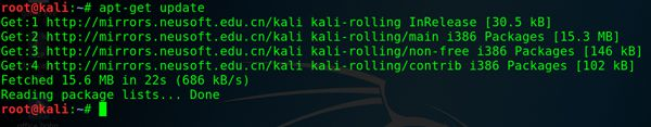 How to Update Kali Linux 2019 1 using Command