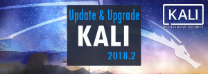 update and upgrade to kali linux 2018.2