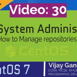 30 How to Manage repositories