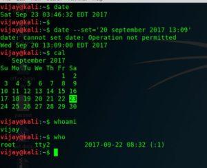 Kali linux commands basic 1