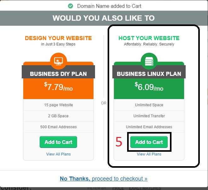 choose business linux plan