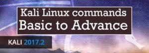 kali linux commands basic to advance 2