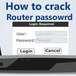 how to use Router password cracker tool hydra