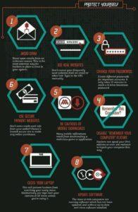 8 tips for stay safe online