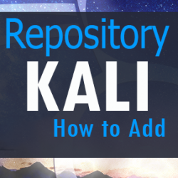 how add Kali Linux repository