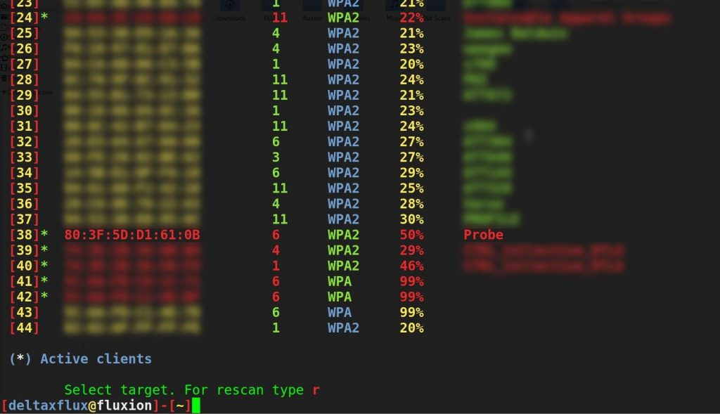 Fluxion - WPA WPA2 hacking in minutes