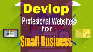 Learn to Develop a Website for Small Business