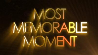 a memorable event a memorable moment