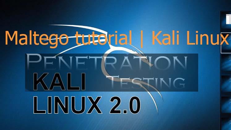 Maltego Kali Linux