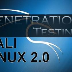 kali-linux-2-0-pentration testing tutorial