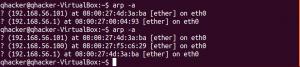 arp poisoning victim Ubuntu