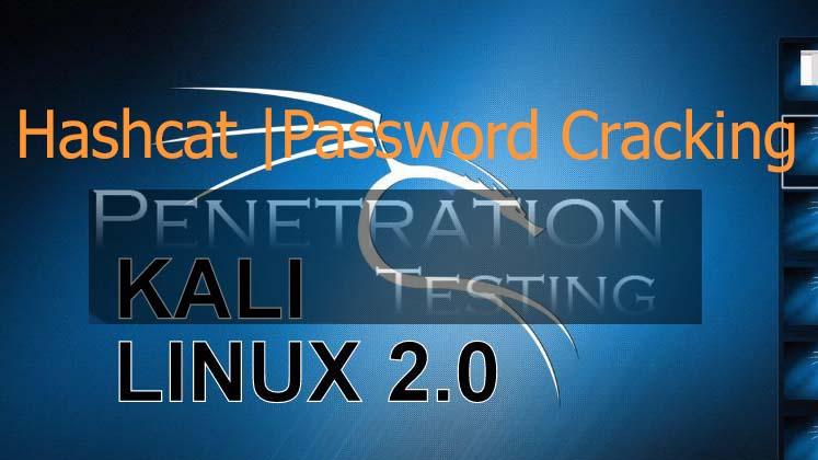 hashcat tutorial for Password Cracking