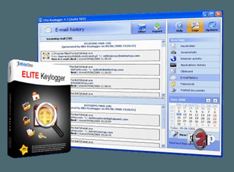Keystroke logging with elite keylogger